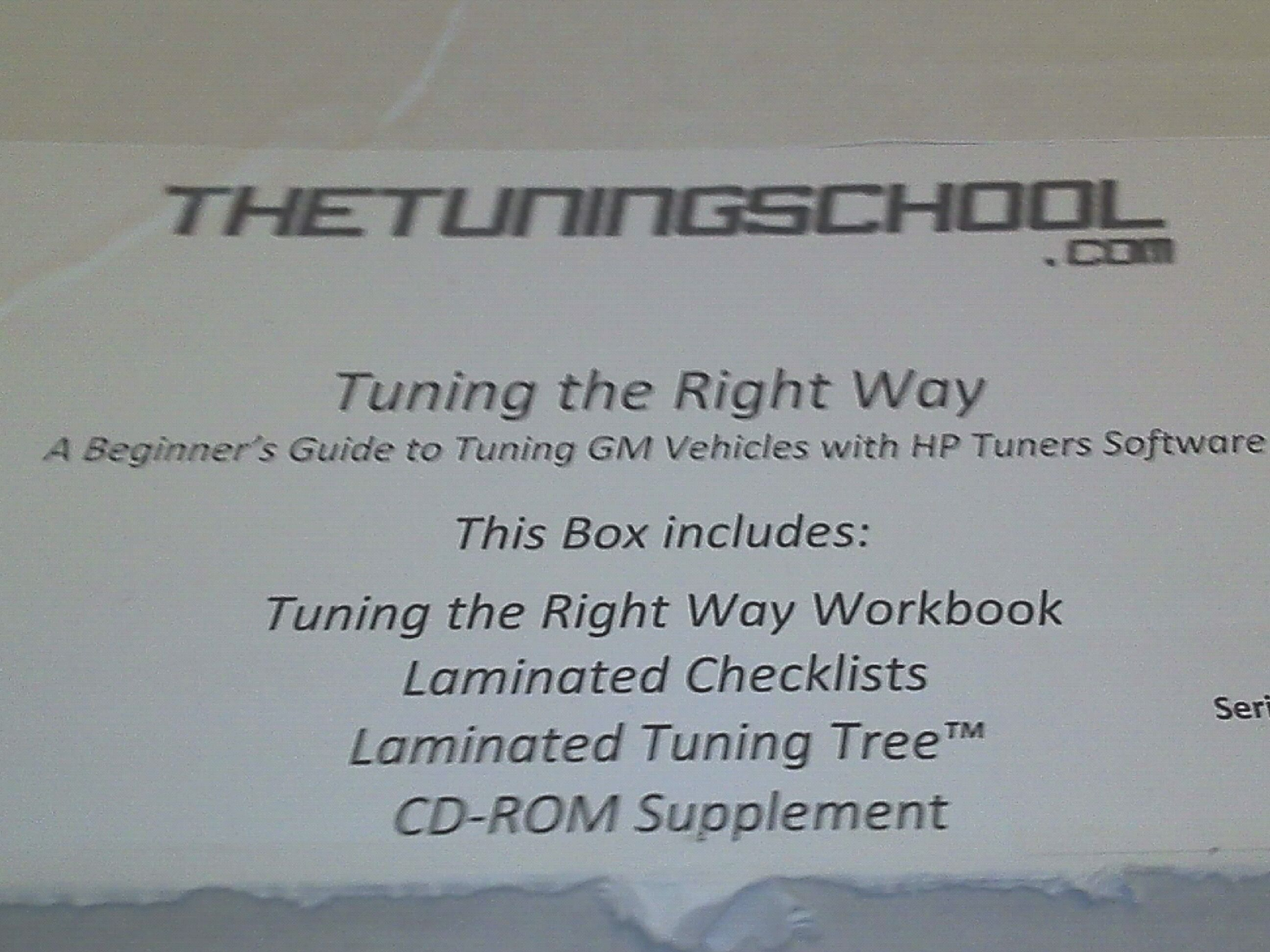 The tuning school and hp tuners rocks   WickedStangs com