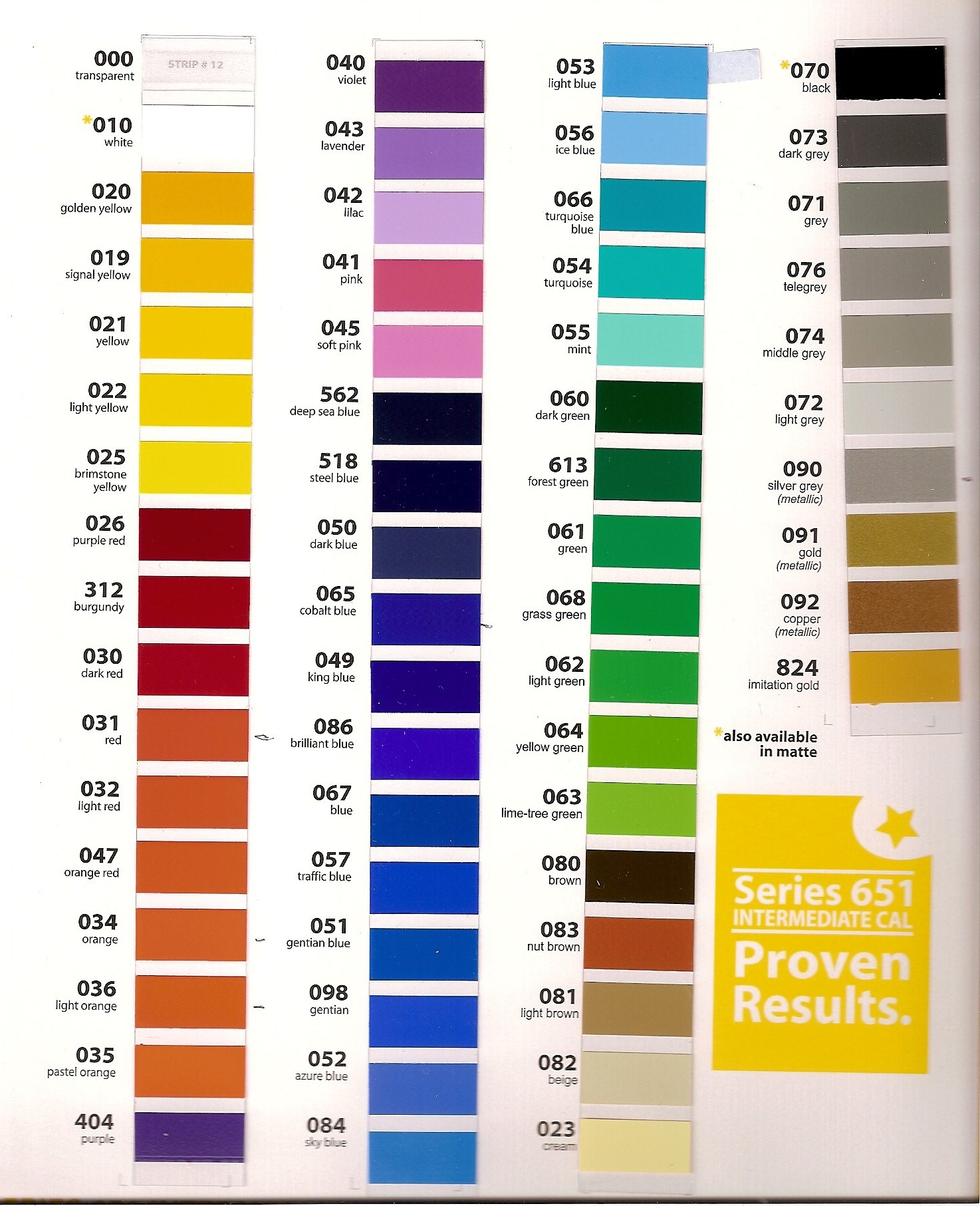 Mustang Color Chart Image Collections Free Any
